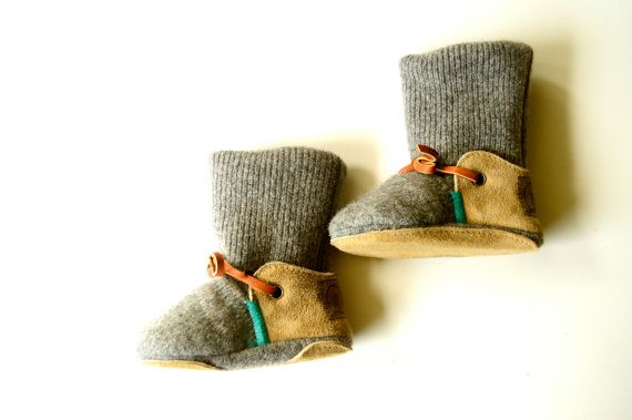Love these baby booties.