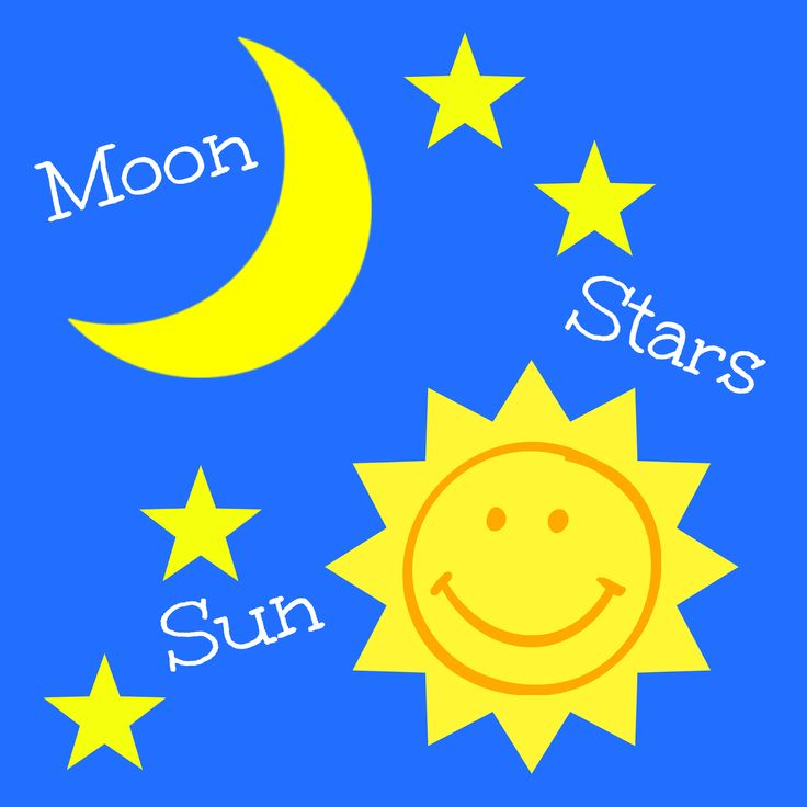 13 best Sun, Moon, and Stars (Infant & Toddler Activities ...