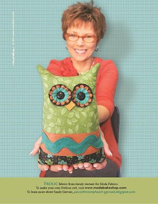 Hello Moda Bake Shop Followers, I am Sandy Gervais, a fabric designer for none other than Moda Fabrics. (Yes, it is a dream job!) Lissa at Moda asked me to design a project that could be sold as a ...