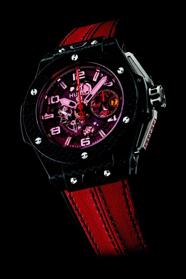 HUBLOT Big Bang Ferrari Red Magic   http://preziosamagazine.com/baselworld-2013-unanteprima-degli-orologi-in-arrivo-molti-i-modelli-femminili/