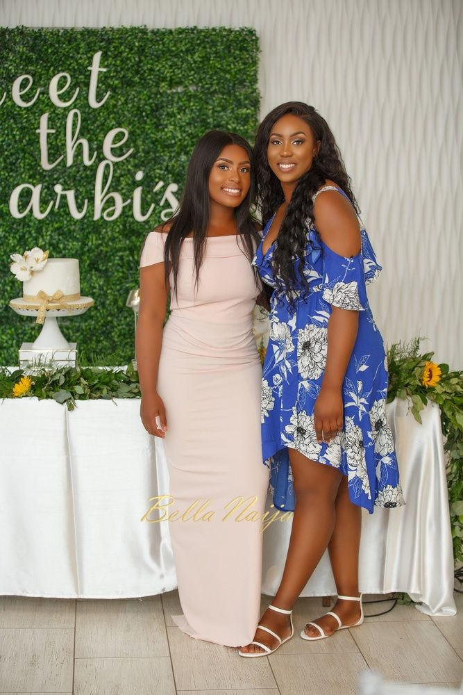 This beautiful garden themed BN Bridal Shower for Jennifer was hosted by her wonderful bridesmaids. #MeetTheLarbis