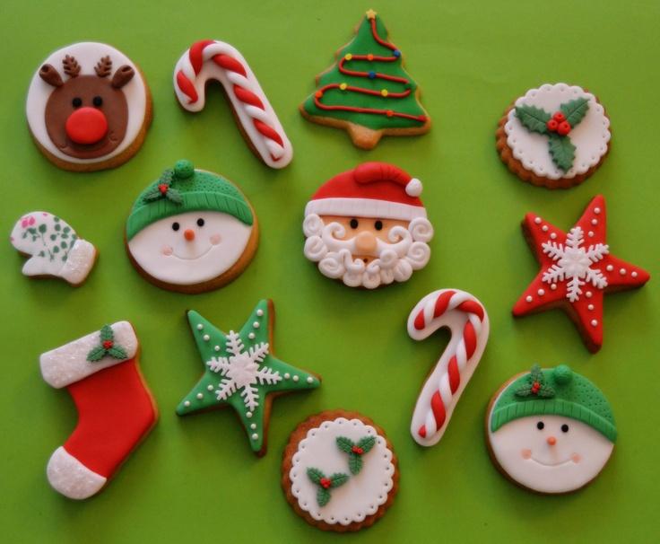 Como Decorar Galletas De Navidad Facil