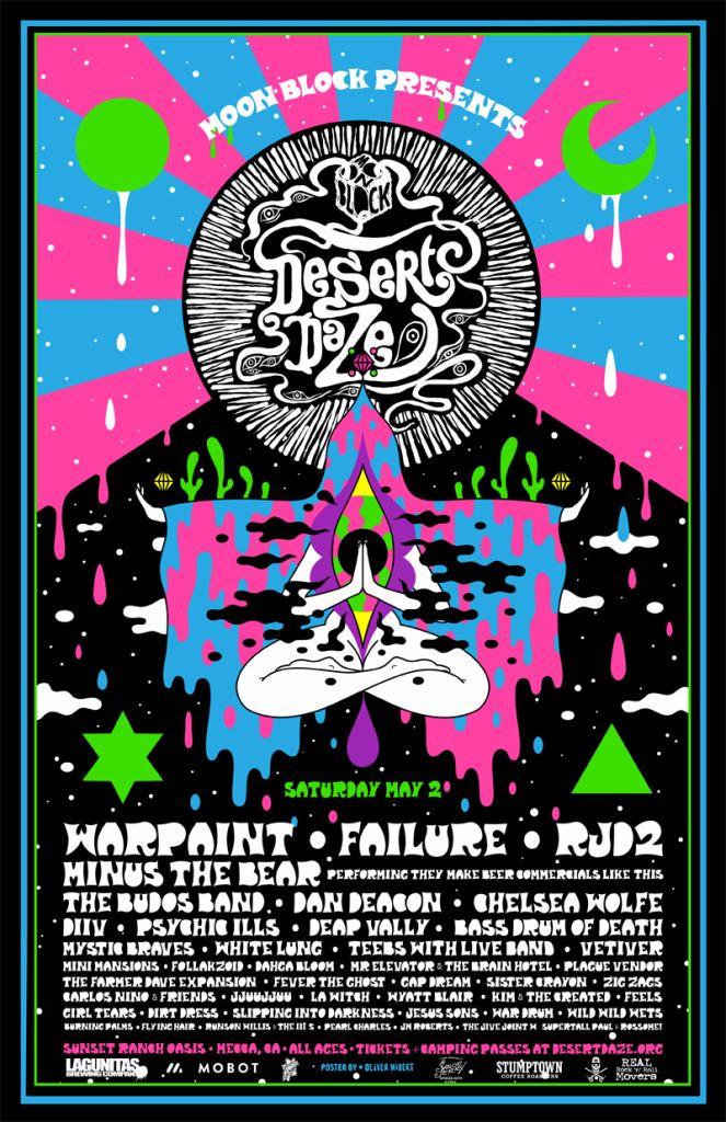 Desert Daze Festival reveals 2015 lineup Warpaint, Minus The Bear, etc. Consequence of Sound
