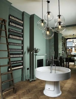 grey green color scheme by thebarncat, via Flickr (I like this idea for a bathroom)