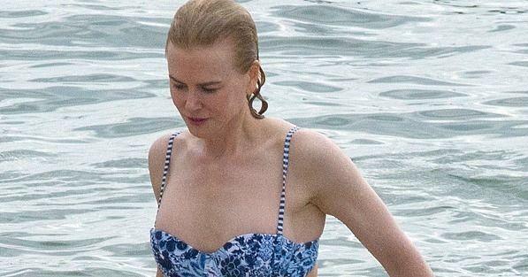 Nicole Kidman Has Been Hiding a Really Rockin' Bikini Body - http://www.popsugar.com/celebrity/Nicole-Kidman-Bikini-Beach-Sydney-2016-40860478