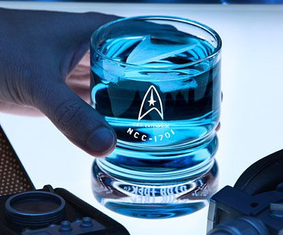 Star Trek USS Enterprise Glassware - https://interwebs.store/star-trek-uss-enterprise-glassware/ #StarTrek