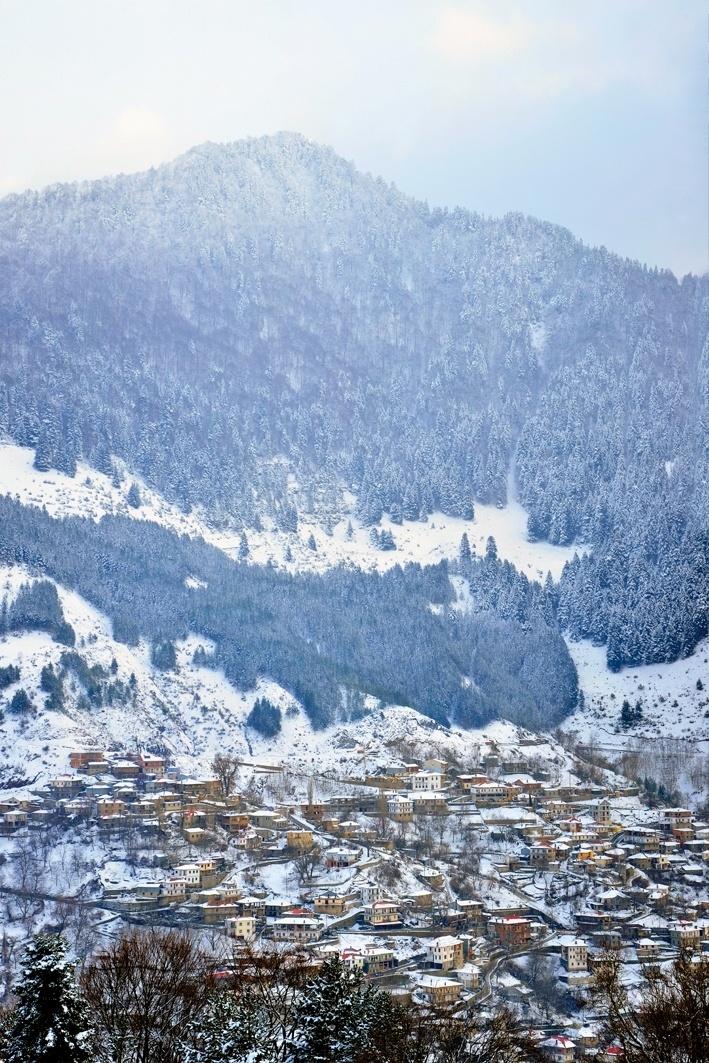 Metsovo.A beautiful village in Epirus-Northern Greece