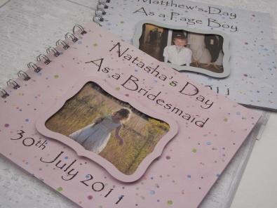 Bridesmaid or Pageboy Activity Book