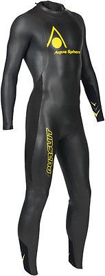 Aqua sphere black / yellow #pursuit mens #triathlon wetsuit #extra large (xl) new, View more on the LINK: http://www.zeppy.io/product/gb/2/361323319013/