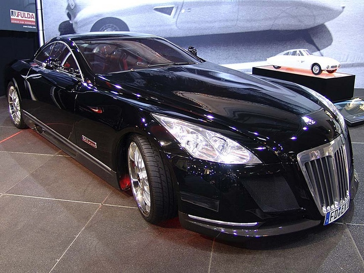 Maybach Exelero HD Literally ONE Of A Kind, It Is The Only One In Existence!