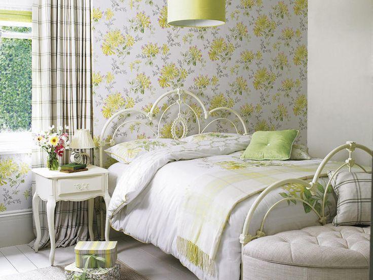 El toque romántico: El descanso está garantizado en este cuarto, #decorado con un estilo #femenino y sereno