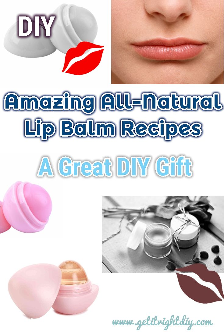 Best Homemade All Natural Lip Balm Recipes for Chapped Lips ...