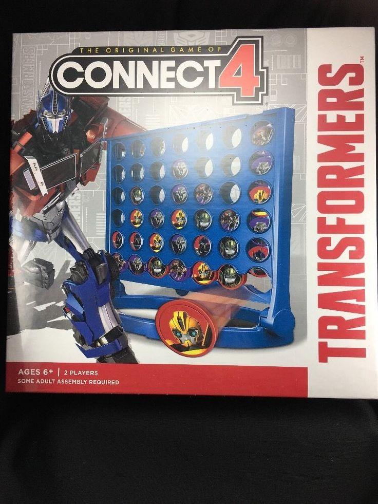 Transformers Connect 4 Game Hasbro Homeschool Autobots
