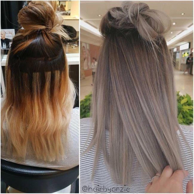 Ash Blonde Balayage Hairtut Blonde Blondebalayage Ashblonde