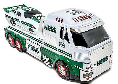 NEW 2016 Hess Toy Truck & Dragster Collectible Car Combo FREE Priority Ship