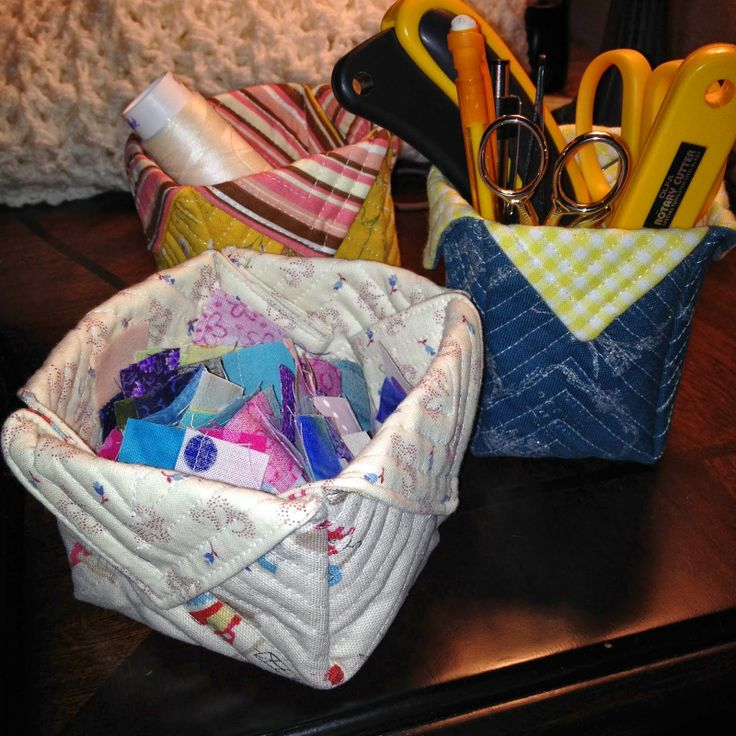 Sarcastic Quilter: Fabric Boxes