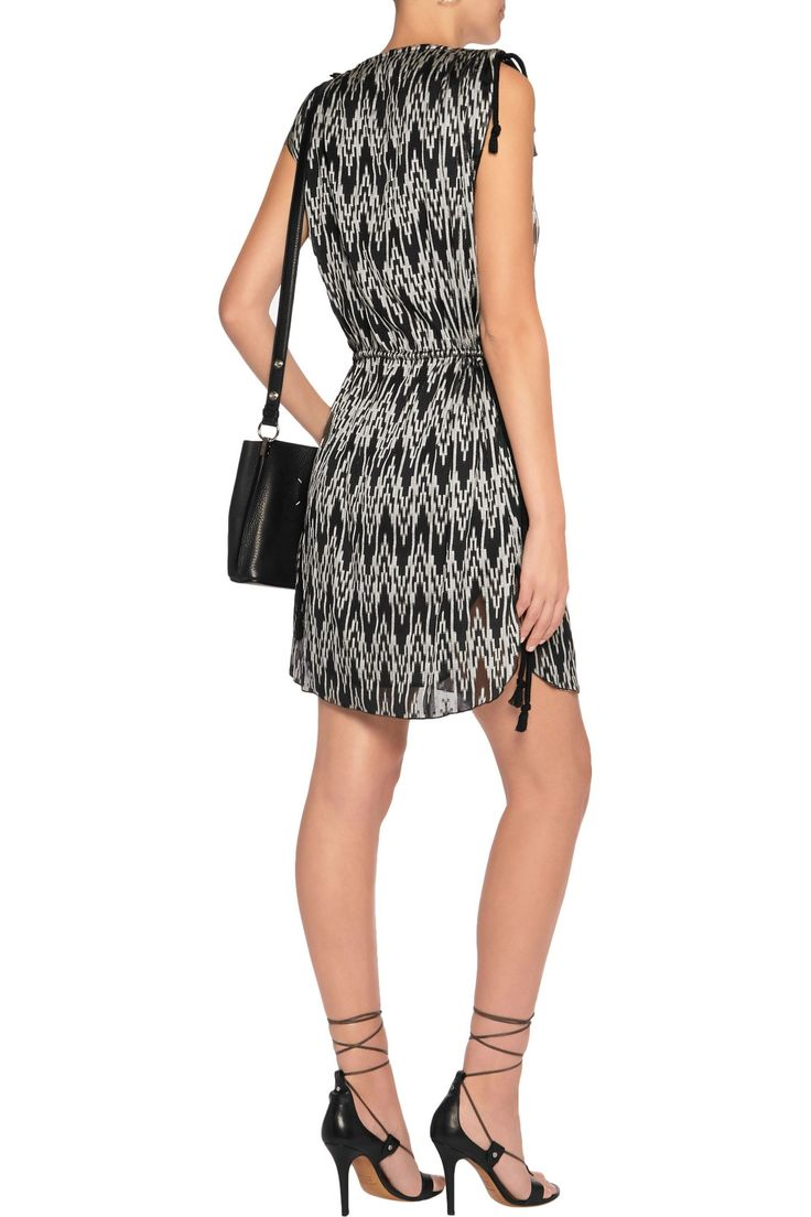 Printed voile mini dress | ISABEL MARANT | Sale up to 70% off | THE OUTNET