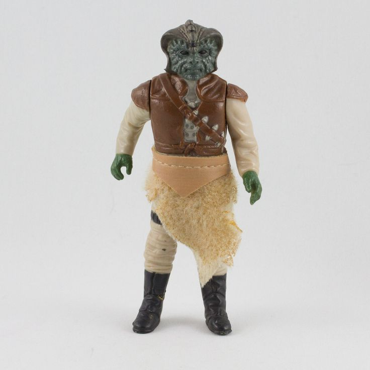 Klaatu, This vintage Kenner Star Wars Klaatu action figure is in great condition and is an excellent addition to any collection. The limbs are very firm, allowing a wide range of poses. The paint finishing is crisp and sharp. The outer cape has some tears and is begun to deteriorate in some areas.