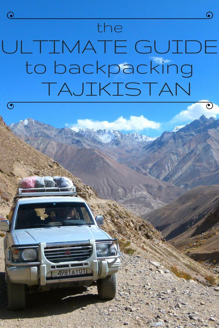 This is the Ultimate Guide to Backpacking Tajikistan. All you need to know about costs, transport, accommodation, food, must sees, pros and cons, health, visas and much more. This is the only guide you'll need for travelling in Tajikistan. http://www.goatsontheroad.com/ultimate-guide-backpacking-tajikistan/
