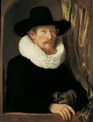 Gerbrand van den Eeckhout, Portrait du père de l'artiste, 1644, Musée de Grenoble