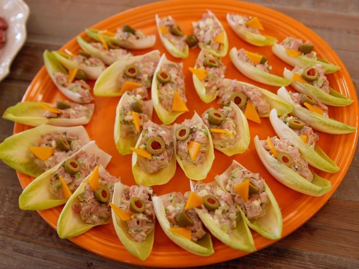 Get this all-star, easy-to-follow Ham Salad in Endive Cups recipe from Ree Drummond