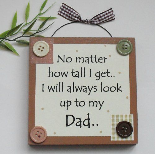 Best Dad/ Fathers day/ Birthday Wooden Keepsake Gift Plaque Brown Craftworks Originals http://www.amazon.co.uk/dp/B004IFQYDU/ref=cm_sw_r_pi_dp_BwOexb16JS9RH