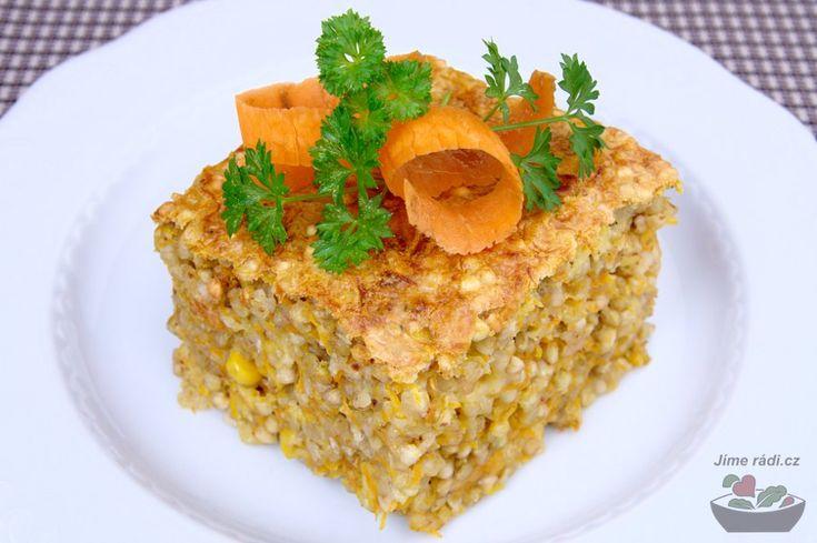 Recept na pohankový nákyp s mrkví.
