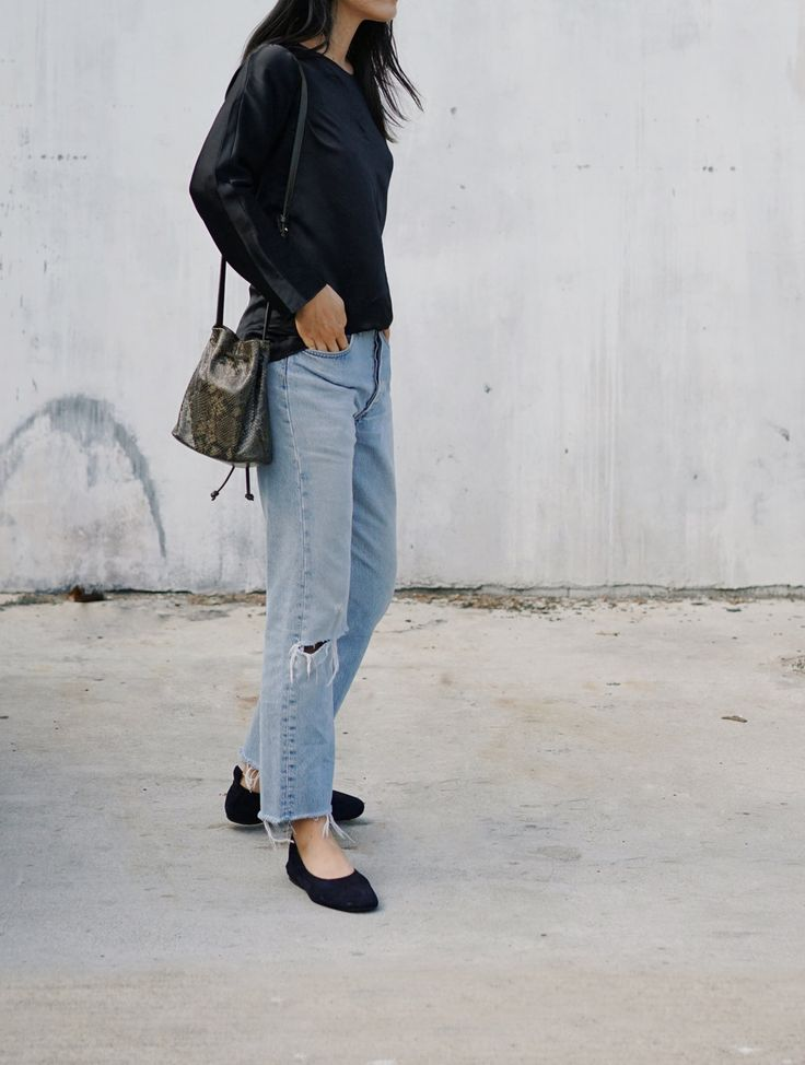 ARITZIA Shirt(Similar here) / DENIM REFINERY Vintage Levis(Similar here )/ EVERLANE Flats  ADDITIONAL FAVORITES JavaScript is currently disabled in this browser. Reactivate it to view this content.  Instagram—Pinterest—Twitter—Facebook—YouTube