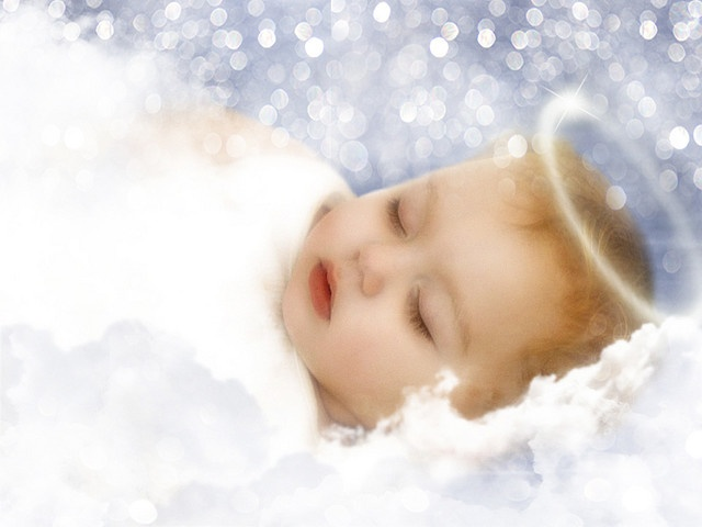 baby angel sleeping | Calling All Angels | Pinterest