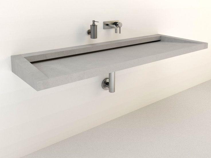 die besten 10 betonwaschtisch ideen auf pinterest holzschubladen badezimmerlicht und rahmen. Black Bedroom Furniture Sets. Home Design Ideas