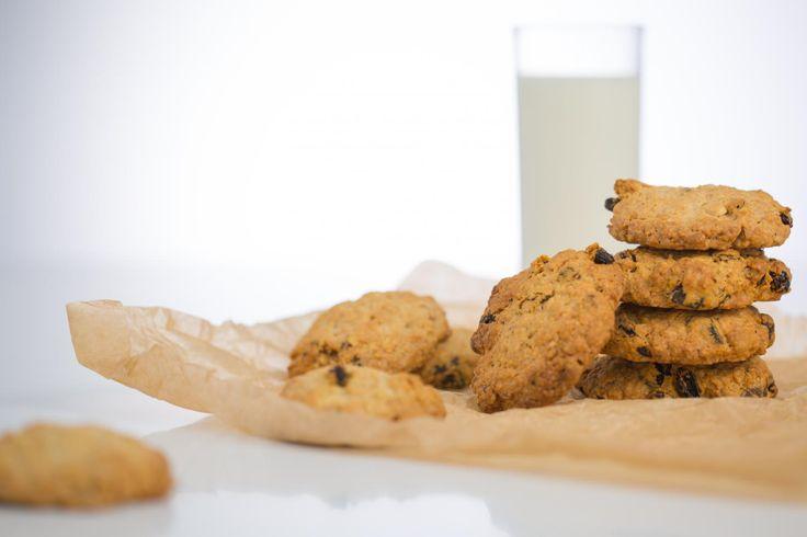 Видеорецепт: овсяное печенье