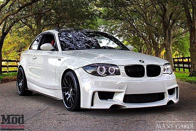 1M Style Front Bumper for 2008-12 BMW 128i 135i [E82] at ModBargains.com