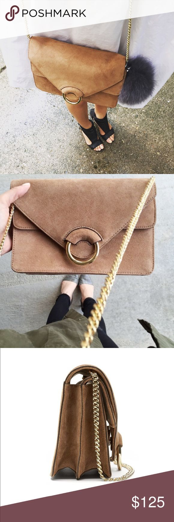 🎀banana republic accordion suede leather bag Adored by bloggers around the globe. This is is adorable beyond words. New with tags. Banana Republic Bags Crossbody Bags