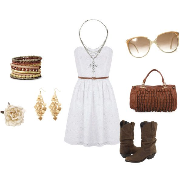 Country girl outfit, created by Abby