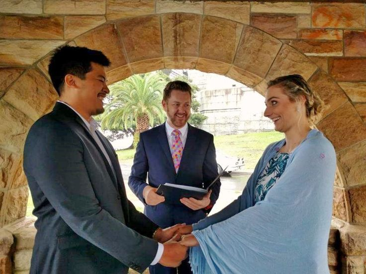Reno and Kirsten - Marriage Celebrant Sydney Stephen Lee