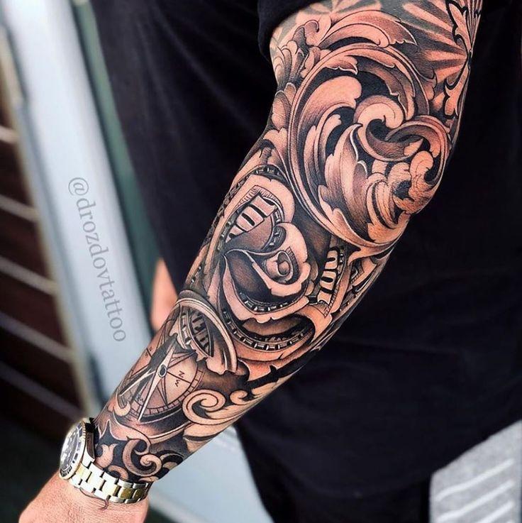 Badass Sleeve Tattoos, Half Sleeve Tattoos Designs, Forearm Sleeve Tattoos, Leg Tattoo Men, Sleeve Tattoos For Women, Arm Tattoos For Guys, Tattoo Designs Men, Best Forearm Tattoos, Forarm Tattoos
