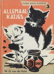 Hulst, W.G. van de - Allemaal katjes