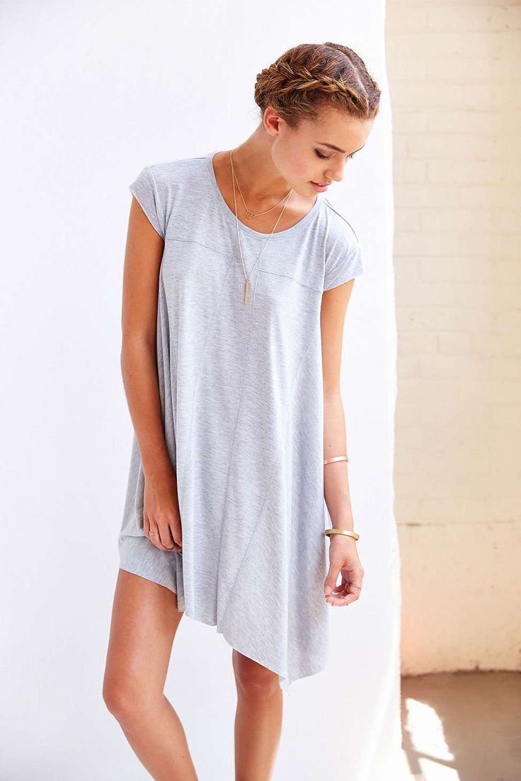White t shirt dress outfit - Bdg Carina Oversized T Shirt Dress
