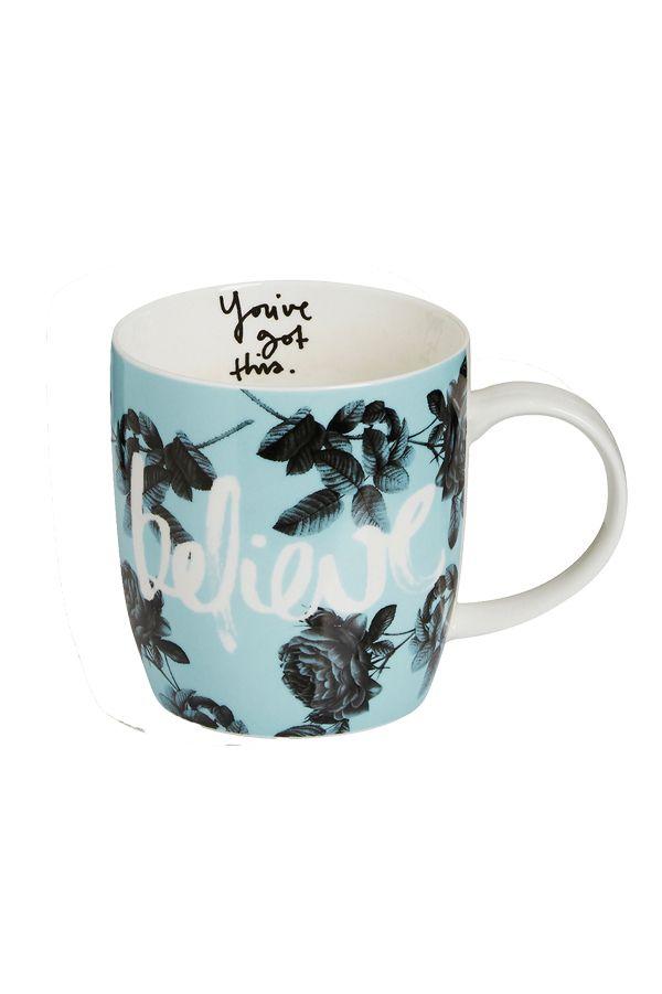 MNB Believe Mug | Accessories | Styles | Shop | Categories | Lorna Jane Site-MNB
