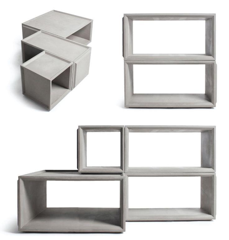 PLUS Modules by Bertrand Jayr Lyon Concrete