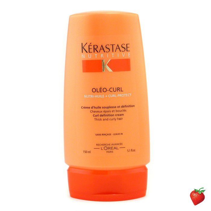 Kerastase Nutritive Oleo-Curl Curl Definition Cream (For Thick, Curly Hair) 150ml/5oz #Kerastase #HairCare #DefinitionCream #FREEShipping #StrawberryNET