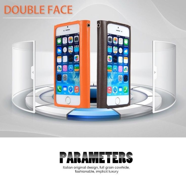 New luxury handmade Leather case for  iPhone 5 5s ITALIAN DESIGN  orange  #lessmore