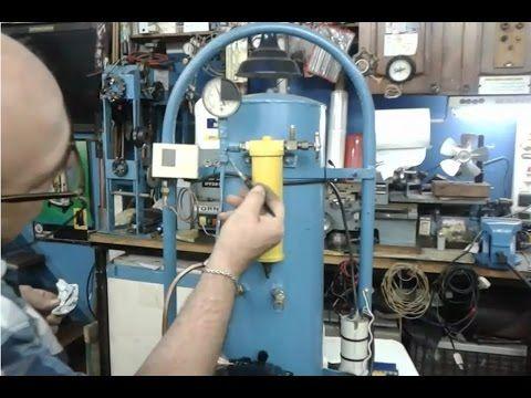 compresor de aire casero. compresor de aire casero- ahorra $$$$$ para tu taller. compresor de aire casero