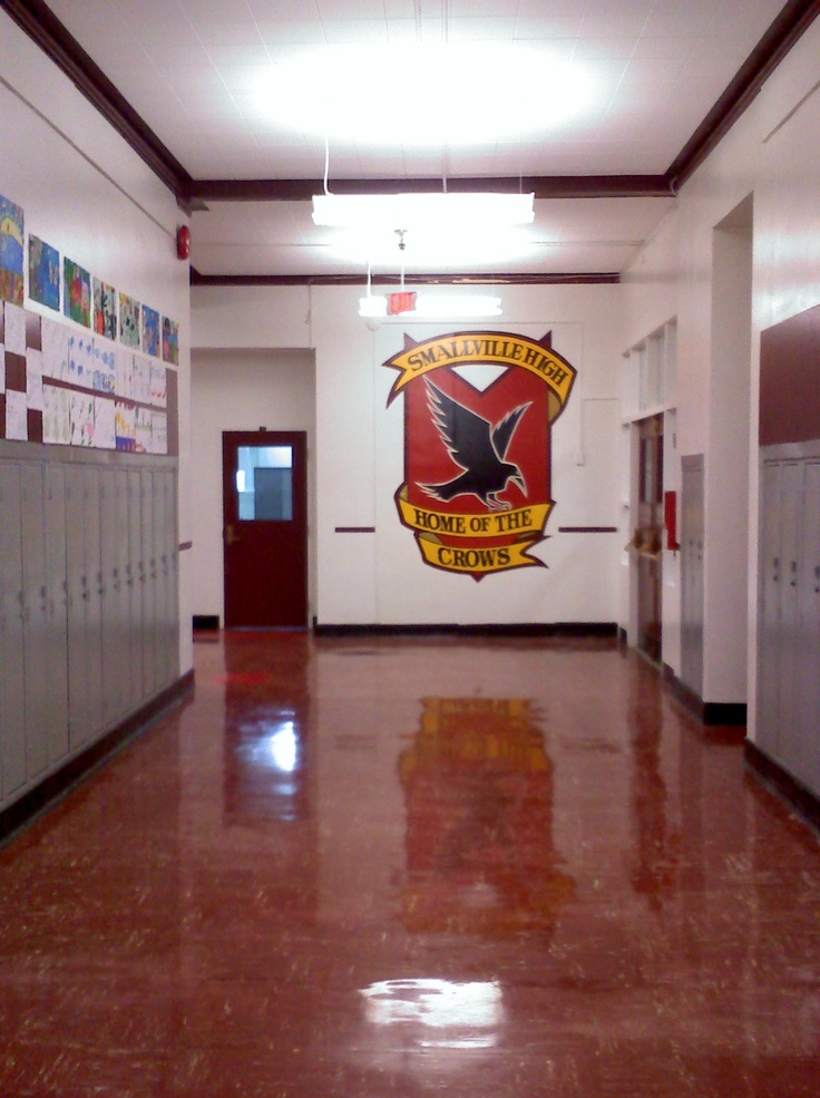 Inside Smallville High. I loved watching smallville.Please check out my website thanks. www.photopix.co.nz
