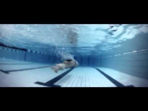 Waterproof #Walkman® W273 with Camille Lacourt. #Fit