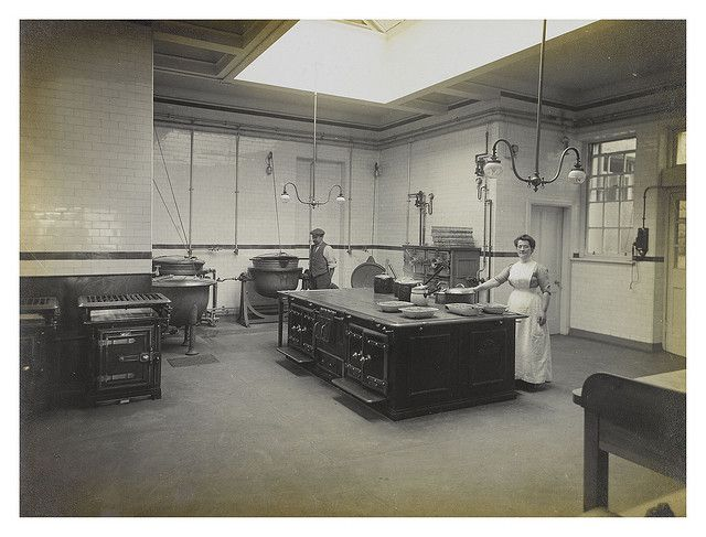 Craiglockhart Hospital And Poorhouse Kitchen C 1890s