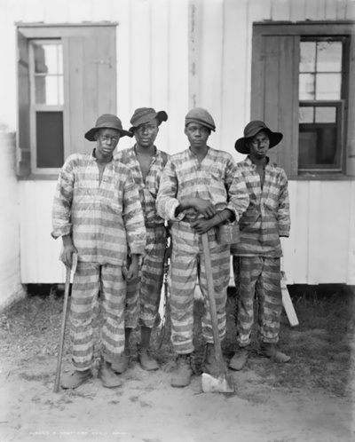 Chaingang. 1902.Gang Chains, African American, American South, Vintage Photos, Southern Chains, Africanamerican, Abt 1905, Black History, Chaingang