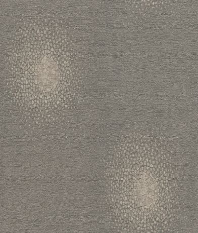 Mitsu (310419) - Zoffany Wallpapers - A heavyweight vinyl wallcovering with an exploded mosaic motif. Shown in the silver metallic on brown textured background - Smoke colourway. Please request sample for true colour match.