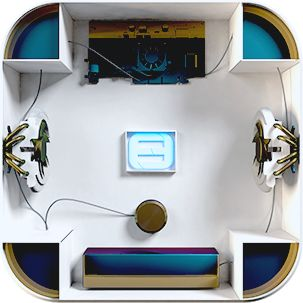 Так выглядят внутренности, а точнее мозги интерактивной детской площадки от команды Fantasy Technology.