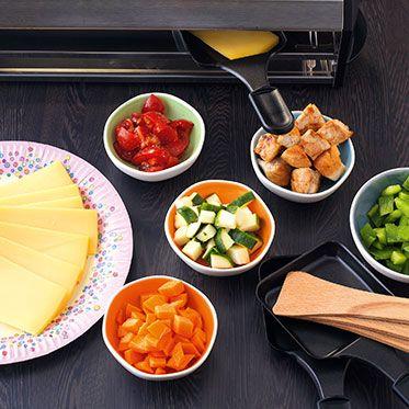 raclette f r kinder mit mildem k se recipe rezepte fondue and html. Black Bedroom Furniture Sets. Home Design Ideas